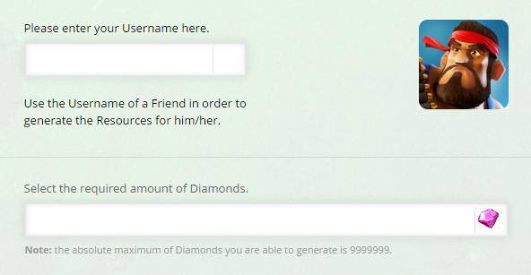 Boom Beach Diamonds Online Hack