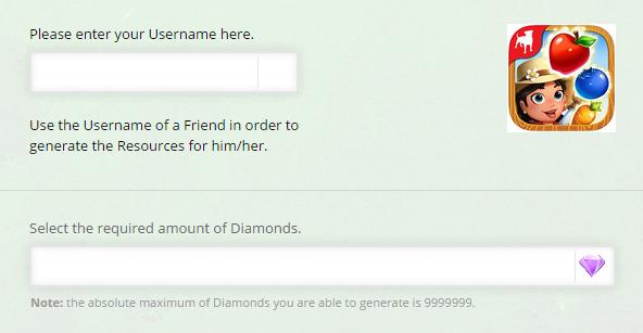 Farmville Harvest Swap Diamonds Online Generator